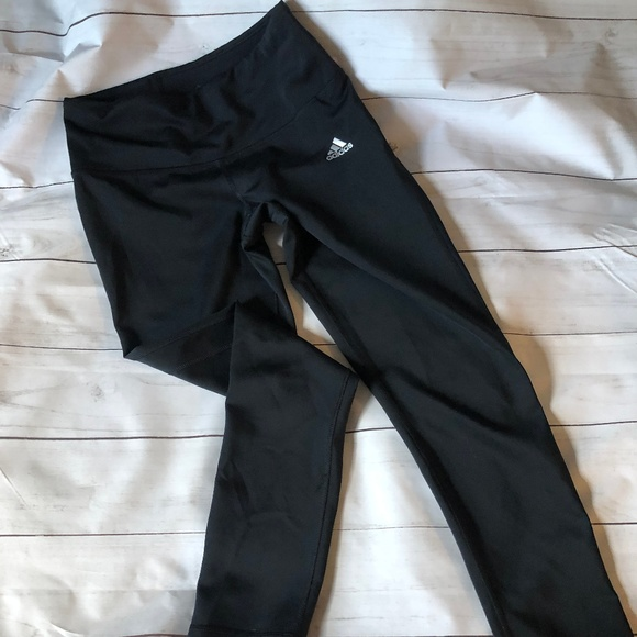Adidas Pants - Adidas Climalite 3/4 leggings Black size Small